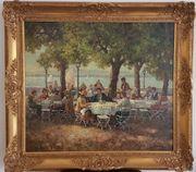 Ölbild Gemälde auf Leinwand mit