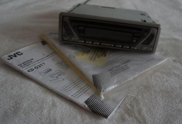 JVC Autoradio-CD