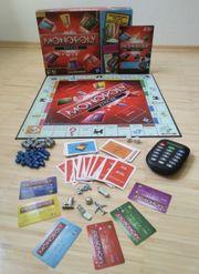 Monopoly Banking mit Bankkartenleser und