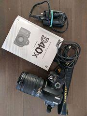 Nikon D40x mit Nikkor 18-135