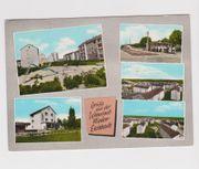 Mehrbildkarte von Nieder-Eschbach 1960er Jahre
