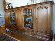 Vitrine Geschirrschrank 5türig- stilvolles Wohnzimmermöbel