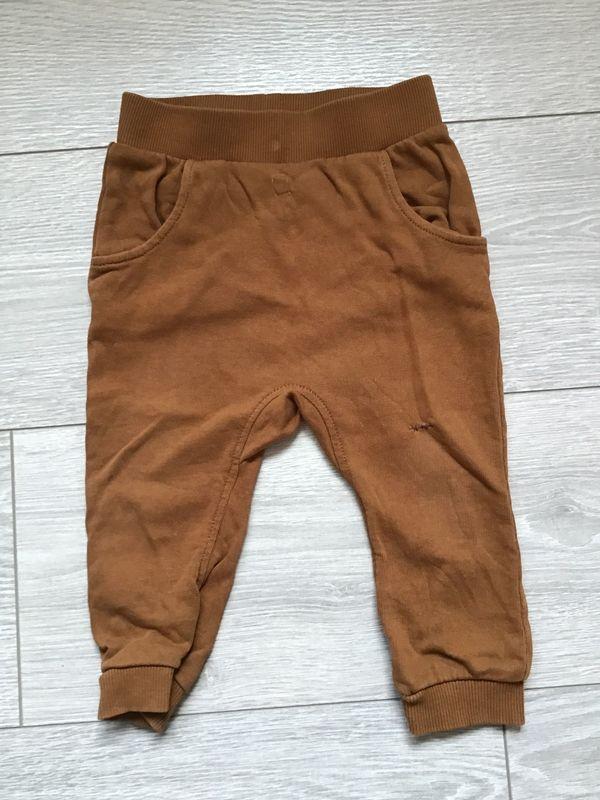 braune Räuberhose von H M