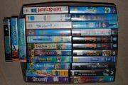 25 Videokassetten mit verschieden Filmen