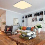 36W Warmweiß LED Deckenleuchte Eckig