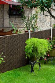 Set 2 Gartenzaun Zweiseitig 90x90