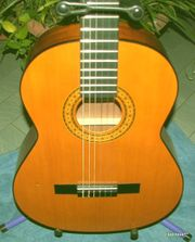 Tolle Konzertgitarre Nylonsaiten spanische Gitarre