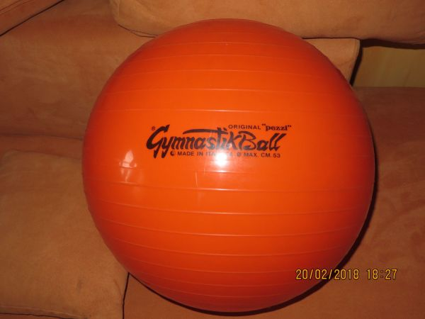 Gymnastikball Pezzi orange