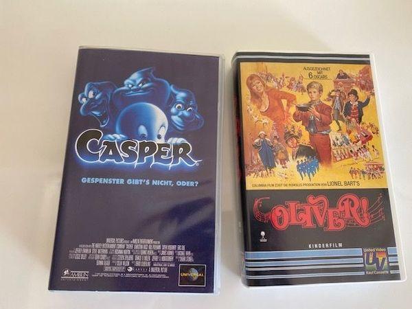2 VHS Oliver und Casper