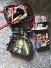 Star wars Sammlung Koffer Rucksack