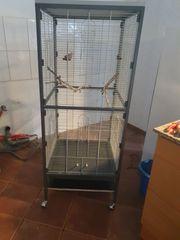 Vogelkäfig Zimmervoliere Käfig für Sittiche