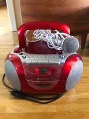 CD-Radiocassettenrecorder