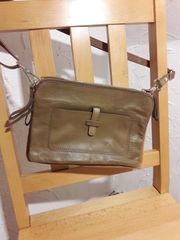 Handtasche Voll-Leder braun - neu
