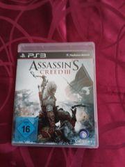 PS3 -ASSASSINS CREED III