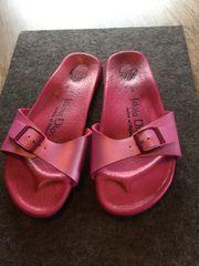 Pinke Pantolette Von Papillio Gr