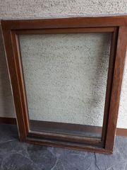 1-2 Holzfenster aus Meranti-Holz bitte