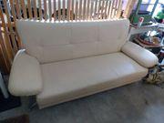 Couch bestens erhalten Leder oder