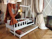 Hausbett mit Barrieren Mit Einem