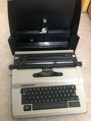 Schreibmaschine Electric Erika