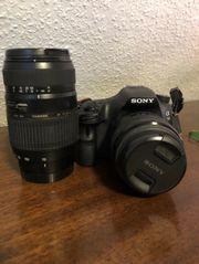 Sony Alpha 58 TAMRON Objektiv