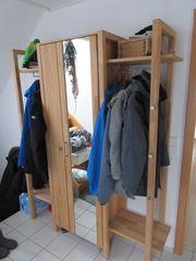 Garderobenschrank Buche Massiv H B