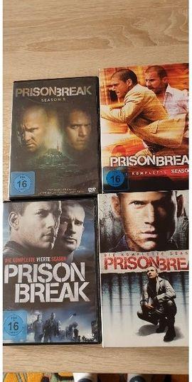 Prison Break, 5Staffeln,Preis inclusive Versand!!!!