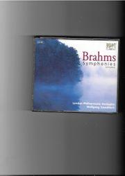 Musik-CD-Cassette Brahms Symphonies complete
