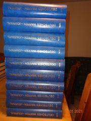 Konvolut DWJ 24 Bände gebundene