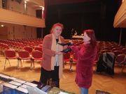 Sabine Ebert übergibt an Ilonka