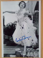 Leslie Caron Großfoto handsigniert