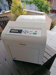 Kyocera Farblaser-Netzwerkdrucker FS-C5100DN voll funktionierend