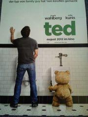 Baseball für Teddy Orginalplakat TED