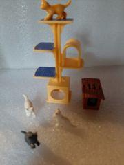 Lego Kratzbaum und Vogelkäfig
