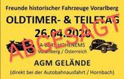 Oldtimer u Teiletag in Hohenems