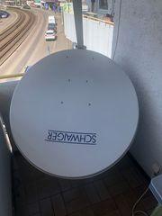 Satellitenschüssel von Schwaiger 100cm