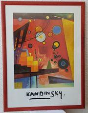Bild Wassily Kandinsky Schweres Rot