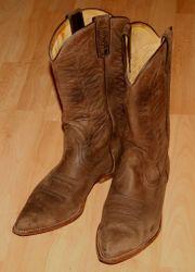 Western-Stiefel - Größe 43 - Cowboy-Stiefel - Leder -
