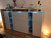 Sideboard mit LED Licht
