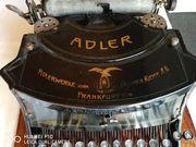 Adler Schreibmaschine ca 1920