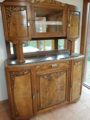 Antiker Buffetschrank Art Deco
