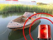 Bootmotore Diebstahlsicherung Hub 12V Bewegungsmelder