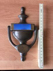 Türklopfer Messing 20 cm vintage