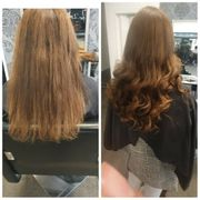Extensions privat friseurin
