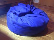 Kleiner Sitzsack Blau