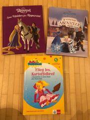 Kinderbücher Bibi Blocksberg Rapunzel Eiskönigin