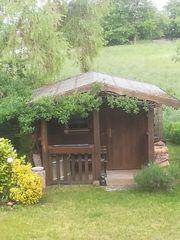 Gartenhausdach neu eindecken Bitumenschindel