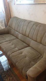 Wildleder Sofa Couch