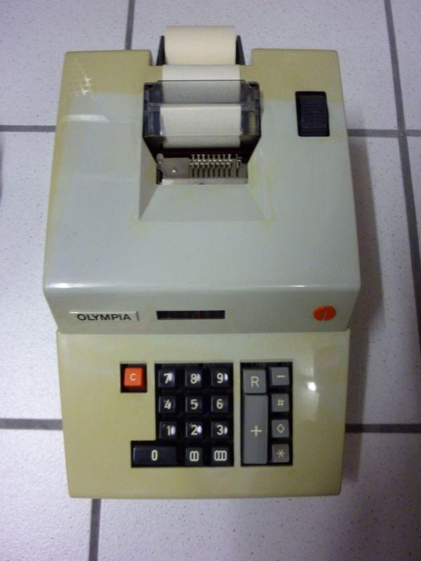 Olympia Rechenmaschine elektromechanisch