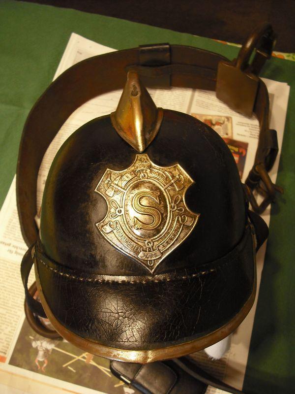 Ver Antikes Feuerwehr Konvolut