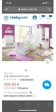 Babybett Wickeltisch von Greuther in